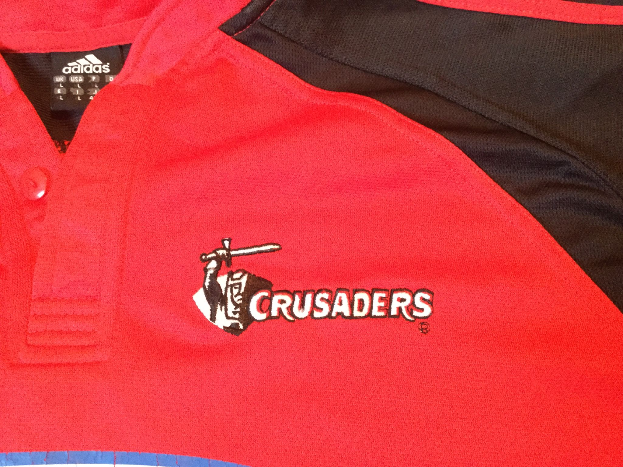 5688fff8b21 Classic Rugby Shirts | 2005 Crusaders Vintage Old Retro Jersey